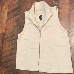 Eileen Fisher 100% organic cotton vest